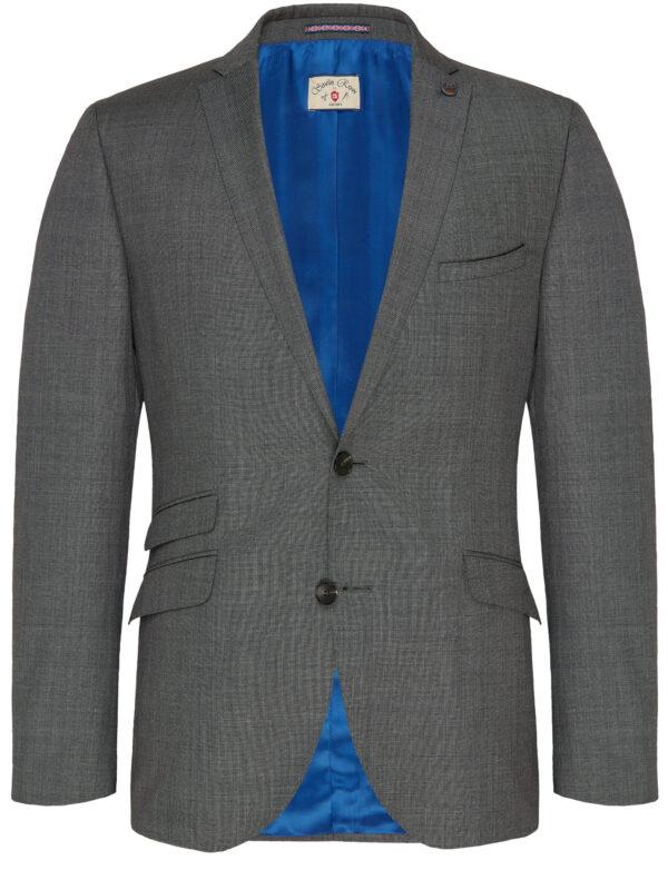 Savile Row grijs jas voor