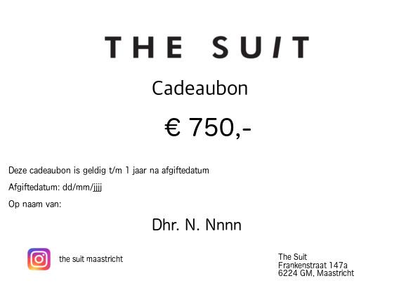 Cadeaubon €750